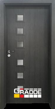 Интериорна HDF врата, модел Gradde Reichsburg, Череша Сан Диего
