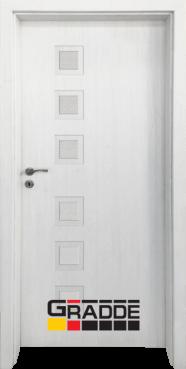 Интериорна HDF врата, модел Gradde Reichsburg, Сибирска Лиственица