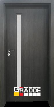 Интериорна HDF врата, модел Gradde Wartburg, Череша Сан Диего