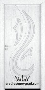 Интериорна врата Гама 203p, цвят Бреза