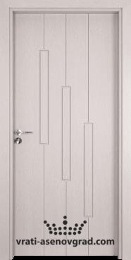 Интериорна врата Гама 206p, цвят Перла