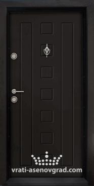 Блиндирана входна врата, модел Т 712, цвят Африка