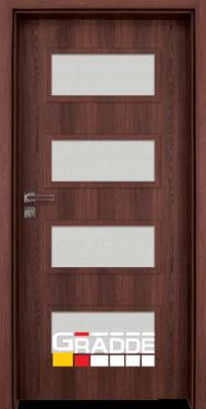 Интериорна HDF врата, модел Gradde Blomendal, Шведски дъб