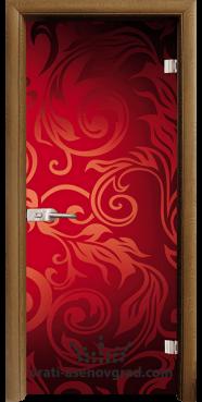 Стъклена интериорна врата Print G 13-11