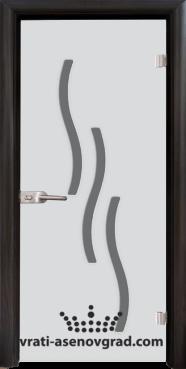Стъклена интериорна врата Sand 14-2