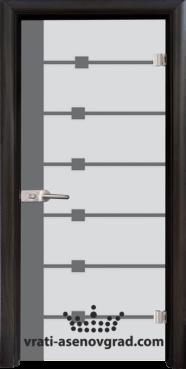 Стъклена интериорна врата Sand 14-5