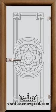 Стъклена интериорна врата Sand 14-8