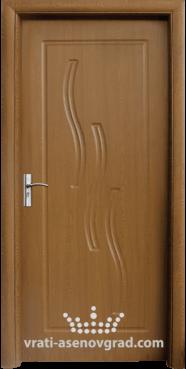 Интериорна врата Стандарт 014-P, цвят Златен дъб