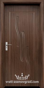 Интериорна врата Стандарт 014-P, цвят Орех