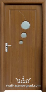 Интериорна врата Стандарт 017, цвят Златен дъб