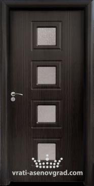 Интериорна врата Стандарт 021, цвят Венге