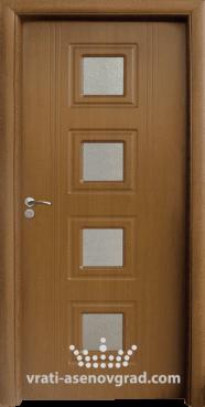 Интериорна врата Стандарт 021, цвят Златен дъб
