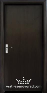 Интериорна врата Стандарт 030-P, цвят Венге