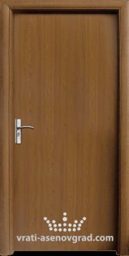 Интериорна врата Стандарт 030-P, цвят Златен дъб