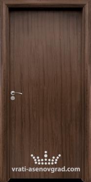 Интериорна врата Стандарт 030-P, цвят Орех