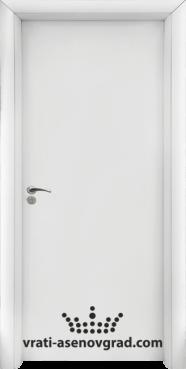 Интериорна врата Стандарт 030-P, цвят Бял