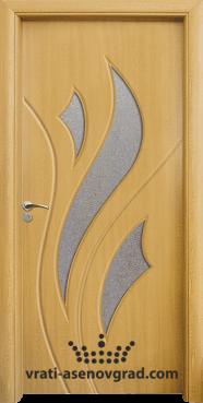 Интериорна врата Стандарт 033, цвят Светъл дъб