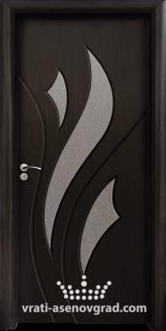 Интериорна врата Стандарт 033, цвят Венге