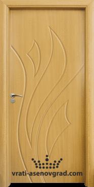 Интериорна врата Стандарт 033-P, цвят Светъл дъб