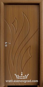 Интериорна врата Стандарт 033-P, цвят Златен дъб