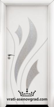 Интериорна врата Стандарт 033, цвят Бял