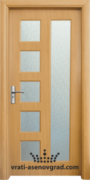 Интериорна врата Стандарт 048, цвят Светъл дъб