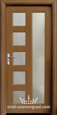 Интериорна врата Стандарт 048, цвят Златен дъб