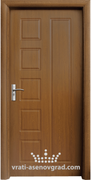 Интериорна врата Стандарт 048-P, цвят Златен дъб