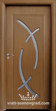 Интериорна врата Стандарт 056, цвят Златен дъб