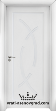 Интериорна врата Стандарт 056-P, цвят Бял