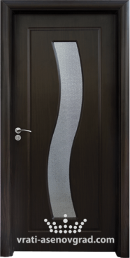 Интериорна врата Стандарт 066, цвят Венге