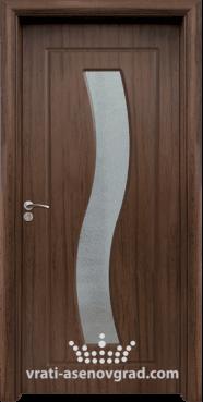 Интериорна врата Стандарт 066, цвят Орех