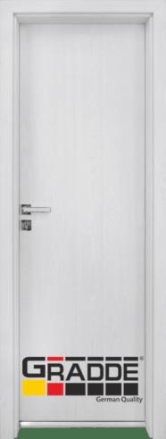 Алуминиева врата за баня – GRADDE цвят Sibiren