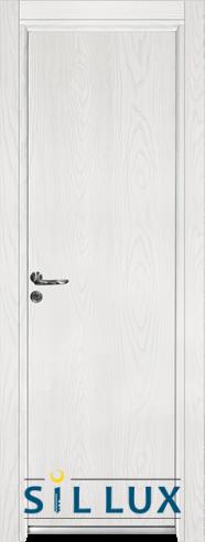 Алуминиева врата за баня – Sil Lux, цвят Снежен бор