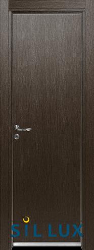 Алуминиева врата за баня – Sil Lux, цвят Златен кестен