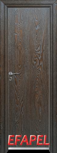 Алуминиева врата за баня – Efapel, цвят Палисандър